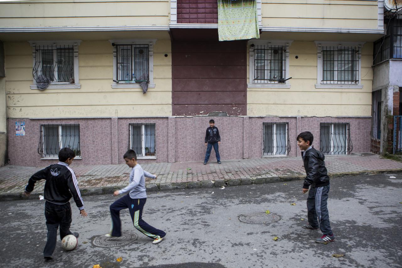 Sokakta Oynayan Çocuklar